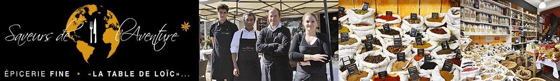 Site Saveurs de L'Aventure La Baule-Escoublac