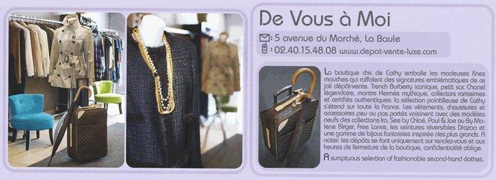 De Vous a Moi - Dépot Vente La Baule-Escoublac Photo No1