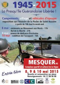 70ème Anniversaire de la Libération de St-Nazaire @ Centre ville de Mesquer | Mesquer | Pays de la Loire | France