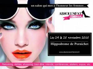 Salon Absolument Féminin 2015 @ Hippodrome de Pornichet | Pornichet | Pays de la Loire | France