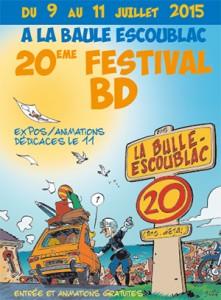 20 ème Festival de la BD 2015 La Baule-Escoublac @ Maison d'Escoublac | La Baule-Escoublac | Pays de la Loire | France