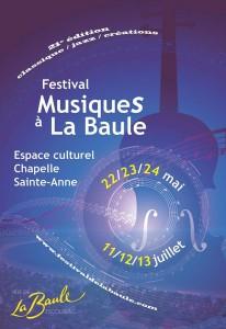 21ème édition du Festival Musiques @ Chapelle Sainte Anne | La Baule-Escoublac | Pays de la Loire | France