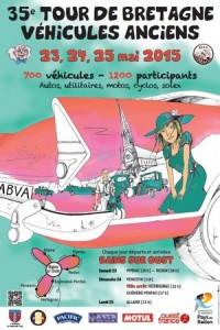35e Tour de Bretagne véhicules anciens @ Herbignac | Pays de la Loire | France