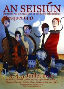 An Seisiun – musique et danse irlandaises @ Bourg de Mesquer | Mesquer | Pays de la Loire | France