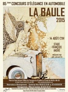 CONCOURS D'ÉLÉGANCE EN AUTOMOBILE 2015 @ Stade Francois André | La Baule-Escoublac | Pays de la Loire | France