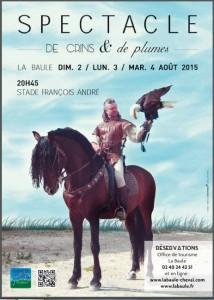 Spectacle de crins & de plumes @ Stade Francois André | La Baule-Escoublac | Pays de la Loire | France