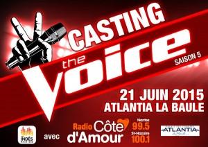 Casting The Voice Saison 5 @ Atlantia La Baule | La Baule-Escoublac | Pays de la Loire | France