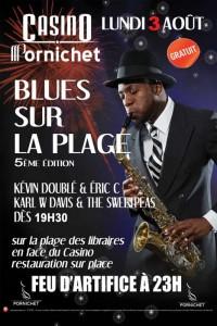 Concert Blues sur la plage et feu d'artifice du Casino @ Plage des libraires Pornichet | Pornichet | Pays de la Loire | France
