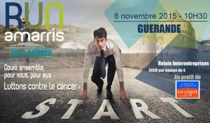 La RUN AMARIS ! au profit de la ligue contre le cancer @ Centre ville Guérande | Guérande | Pays de la Loire | France