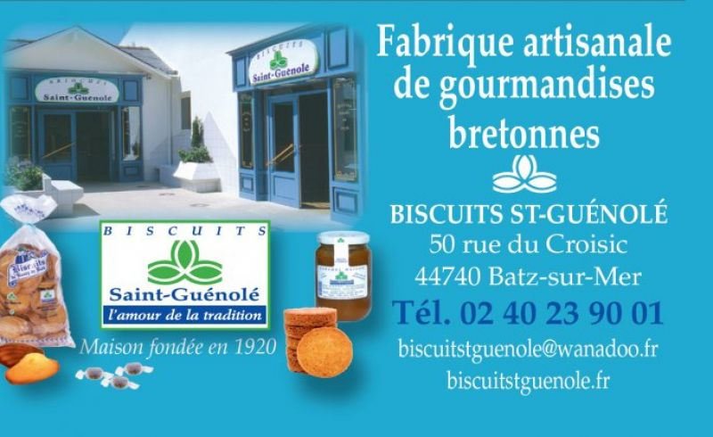 BISCUITS ST GUENOLE Batz-sur-Mer Photo No0