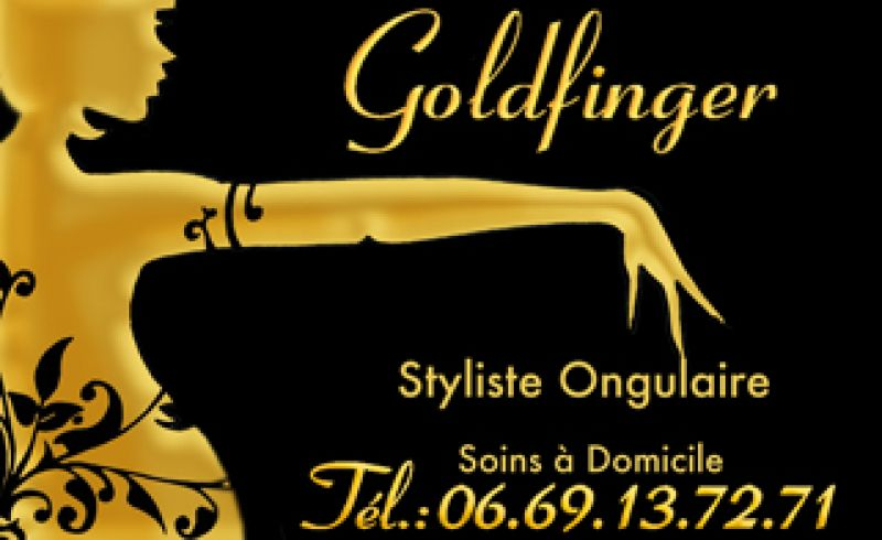 Goldfinger Styliste ongulaire à domicile Pornichet Photo No0