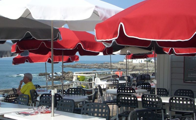 Café de la Plage Batz-sur-Mer Photo No0