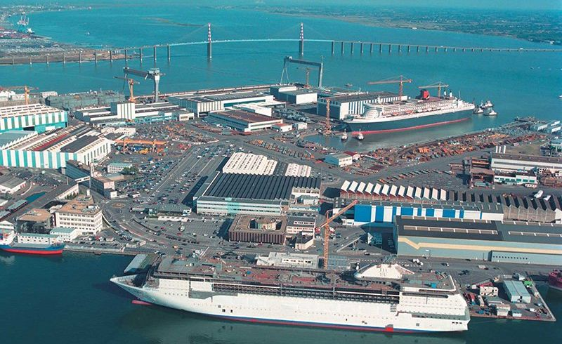Chantiers navals STX Visites Saint-Nazaire Photo No0