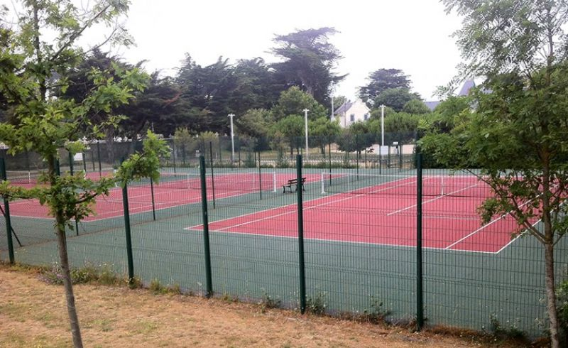 Courts de Tennis municipaux Batz-sur-Mer Photo No0